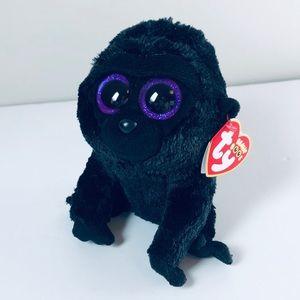 TY Beanie Boos George the Gorilla Plush Stuffy